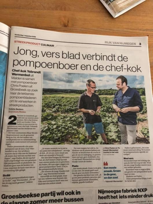 De Gelderlander, 1 augustus 2019